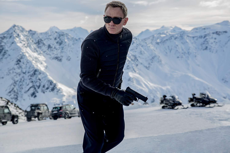 Daniel Craig as 007 in