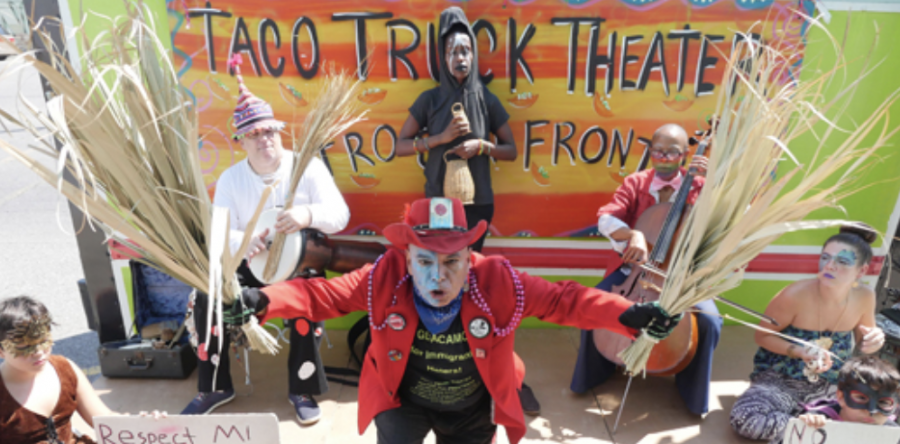 Still from This Taco Truck Kills Fascists