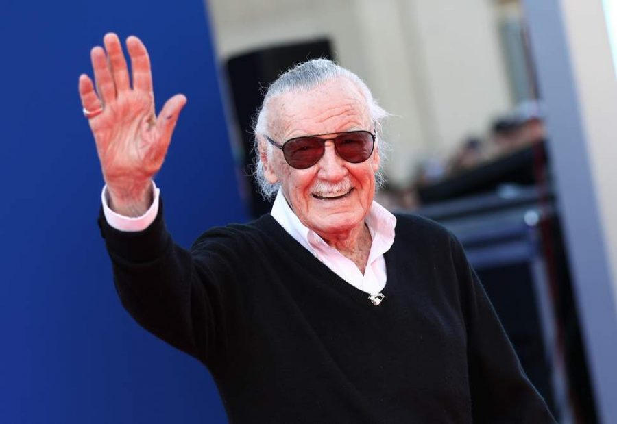 Stan Lee at the premiere of the 2017 film