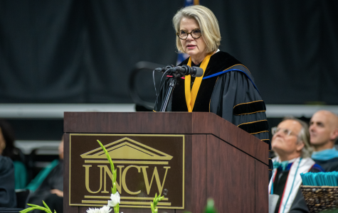 Margaret Spellings gives UNCW College of Arts and Sciences commencement address