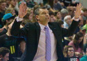 UNCW men's basketball releases coach C.B. McGrath