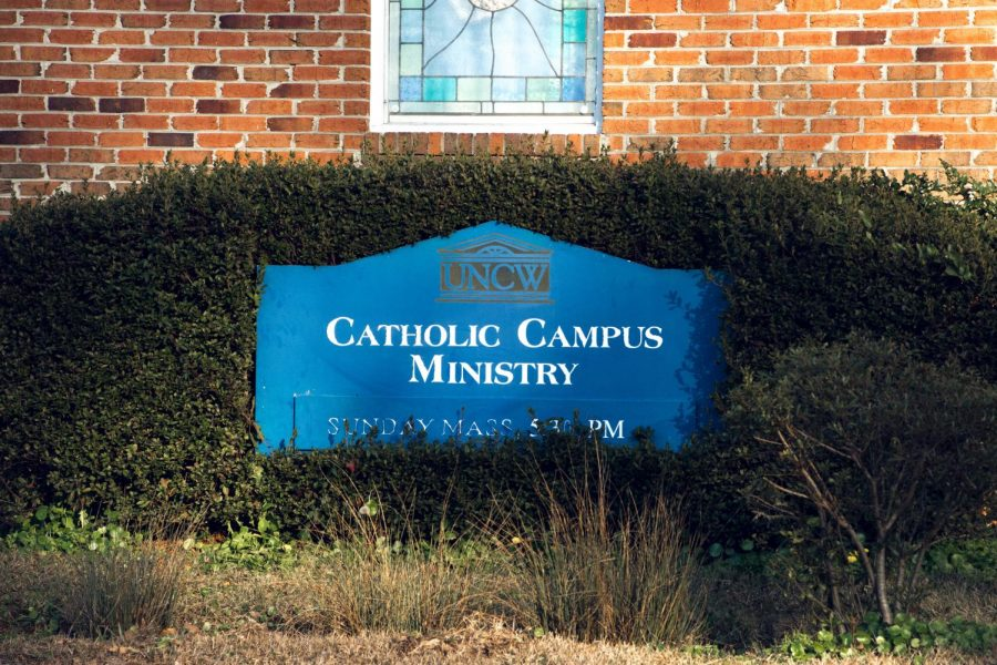 Catholic Campus Ministry, home of the UNCW Food Pantry.