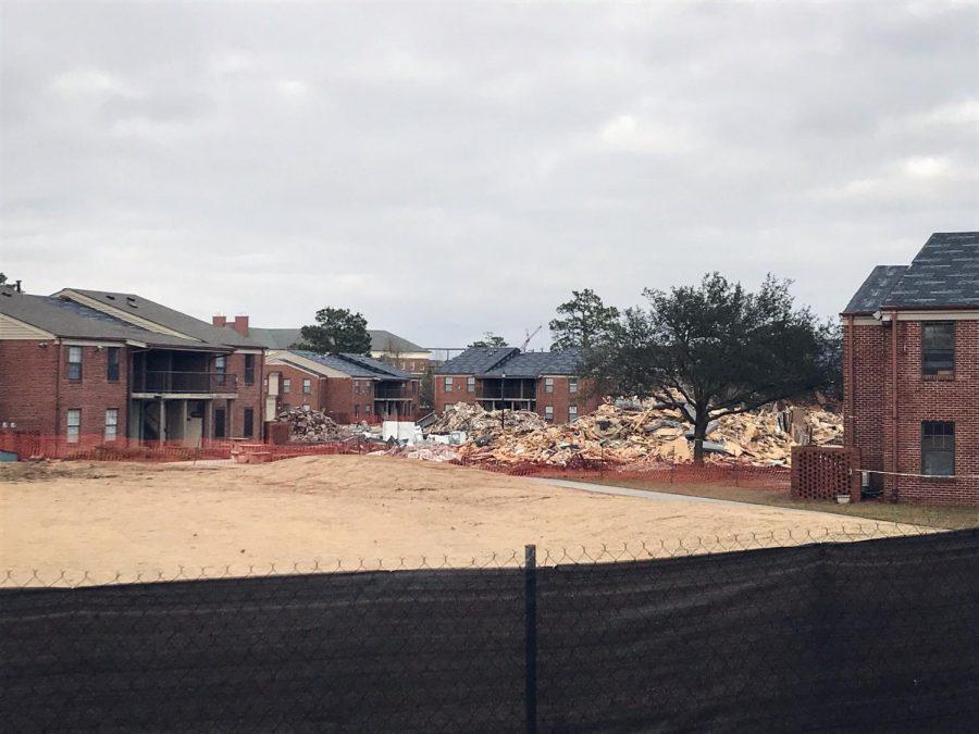 Gallery: Demolition of University Apartments begins