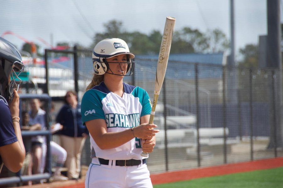 Lacey Fox (5) during UNCW