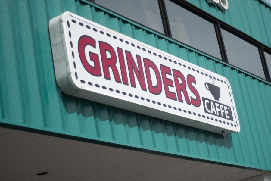The+Grinders+Caffe%27+recently+opened+at+a+new+location+on+S.+Kerr+Ave.