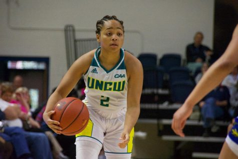 Moriah Crisp (2) during UNCW