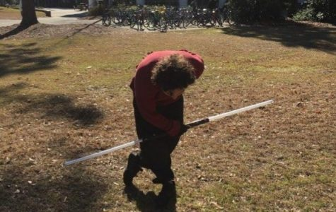 Student veteran showcases love for swordplay