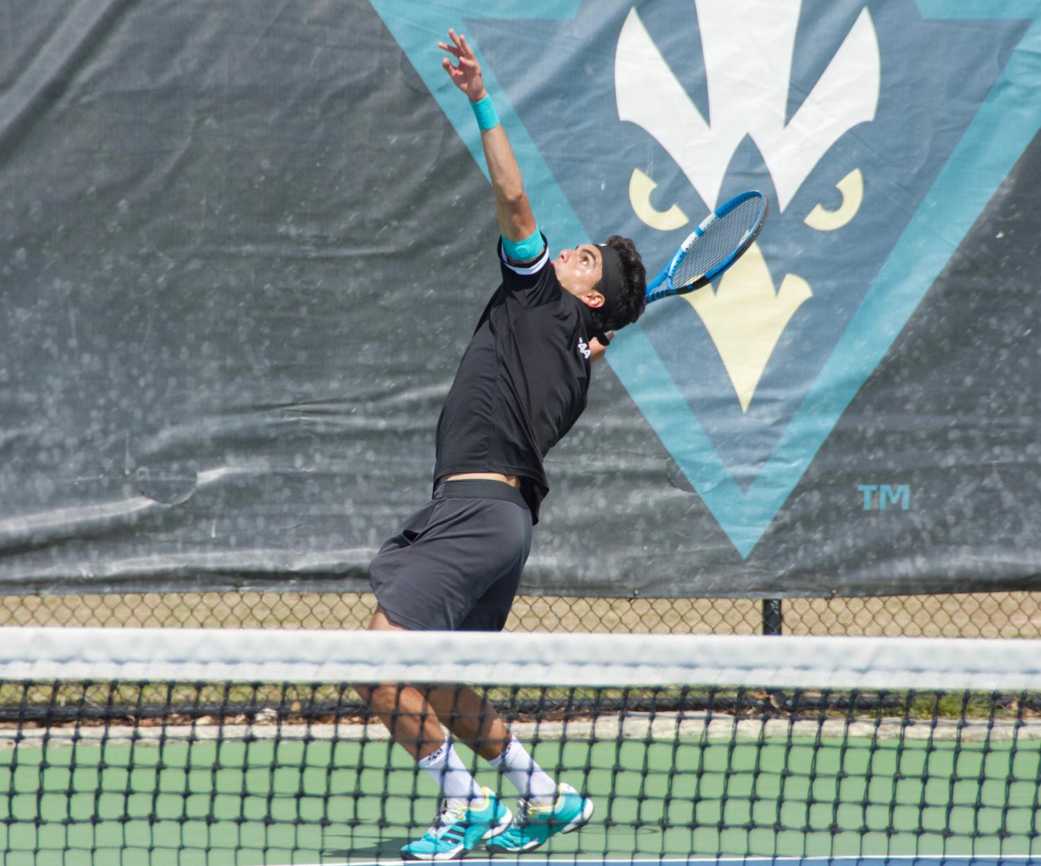 Agustin+Savarino+during+UNCW%27s+match+against+South+Carolina+State+on+March+25%2C+2019.+