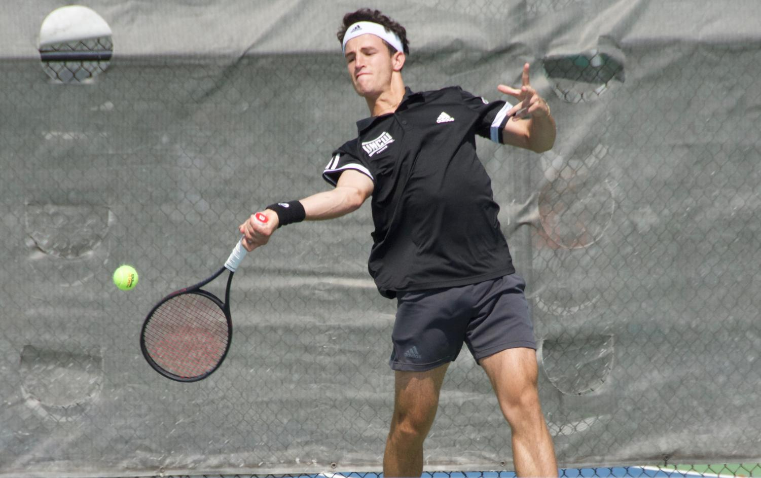 Bruno+Caula+during+UNCW%27s+match+against+South+Carolina+State+on+March+25%2C+2019.+