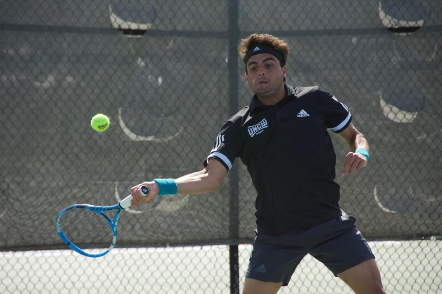 Agustin Savarino during UNCW