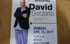David Sedaris talks diversity, Hurricane Florence, and more at Kenan Auditorium