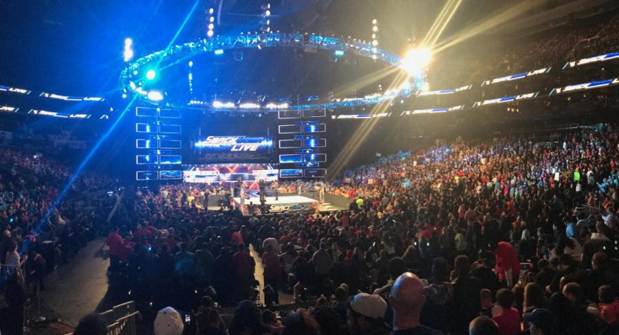 WWE Smackdown Live at the Spectrum Center in Charlotte, North Carolina on Nov. 14, 2017.