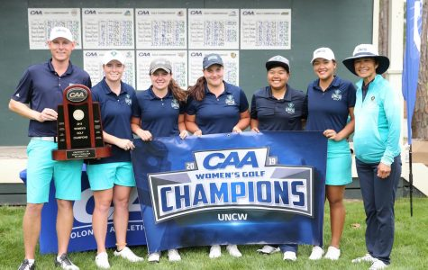Women's Golf brings home first CAA title in nearly a decade