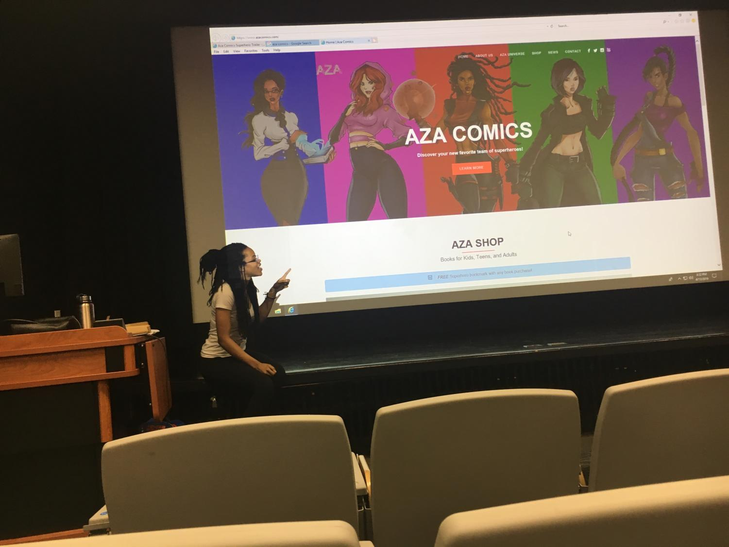 Jazmin Truesdale discusses Ava Comics