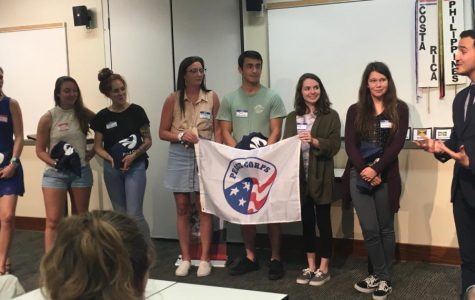 UNCW hosts Peace Corps send-off for student volunteers