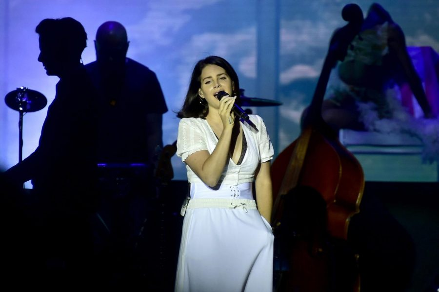 Lana Del Rey performs at a concert on the second day of Aerodrome Festival in Panensky Tynec, Czech Republic, Friday, June 29, 2018. Photo by Ondrej Hajek/CTK/Zuma Press/TNS.