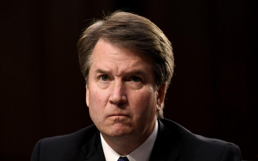 Brett Kavanaugh during his Supreme Court Justice confirmation hearings last year.