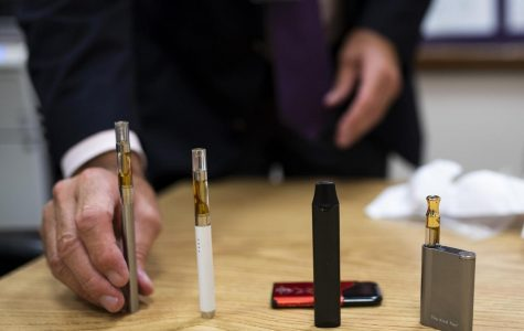 Various types of e-cigarettes.