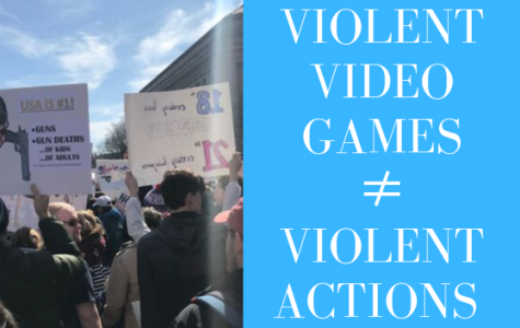 Violent video games are not causing mass shootings