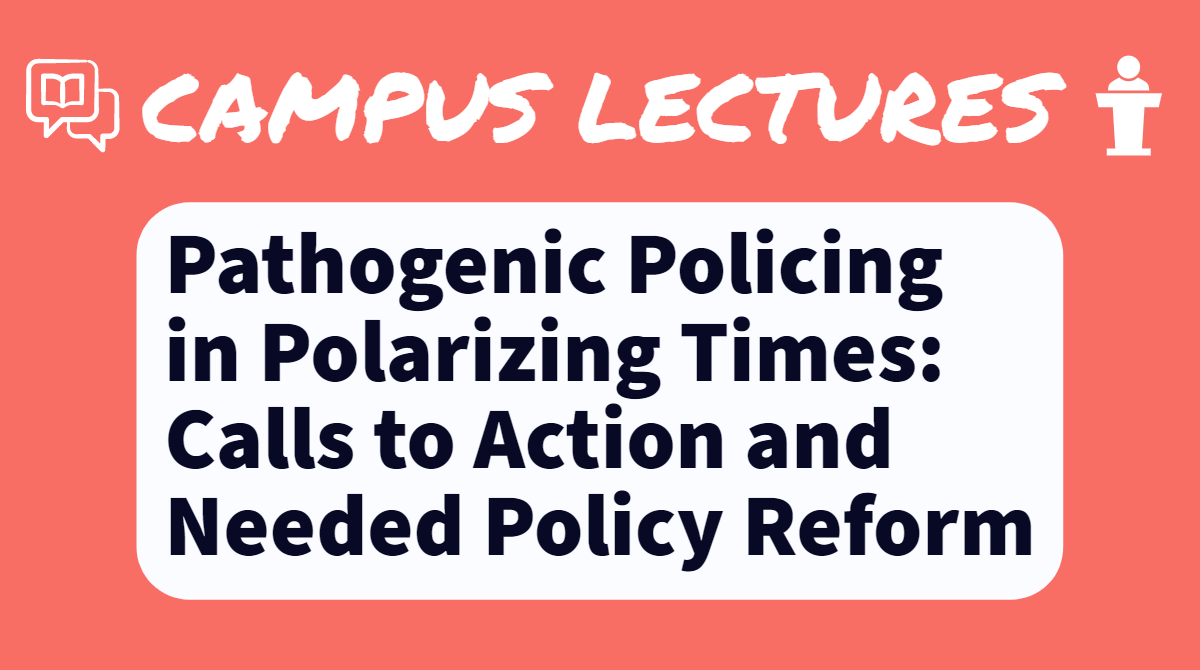 Graphic for upcoming lecture