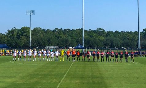 UNCW women's soccer pregame vs. Northeastern on Sep. 29, 2019