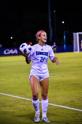 Ashley Johnson (21) during UNCW