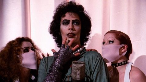 Tim Curry, Nell Campbell and Patricia Quinn star in
