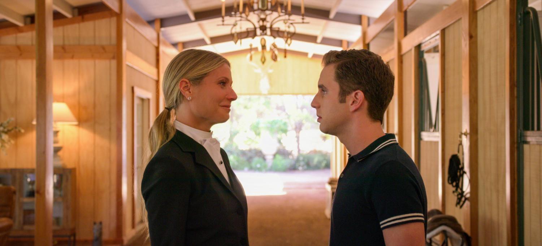 Gwyneth Paltrow and Ben Platt in