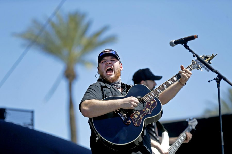 Luke Combs has jumped several notches with his booking for the 2019 edition of the Stagecoach country music festival in Indio, Calif., where he first performed in 2017. (Allen J. Schaben/Los Angeles Times/TNS)