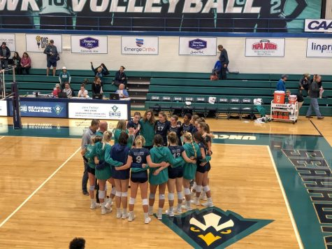 UNCW hosted Towson on Nov. 10, 2019.