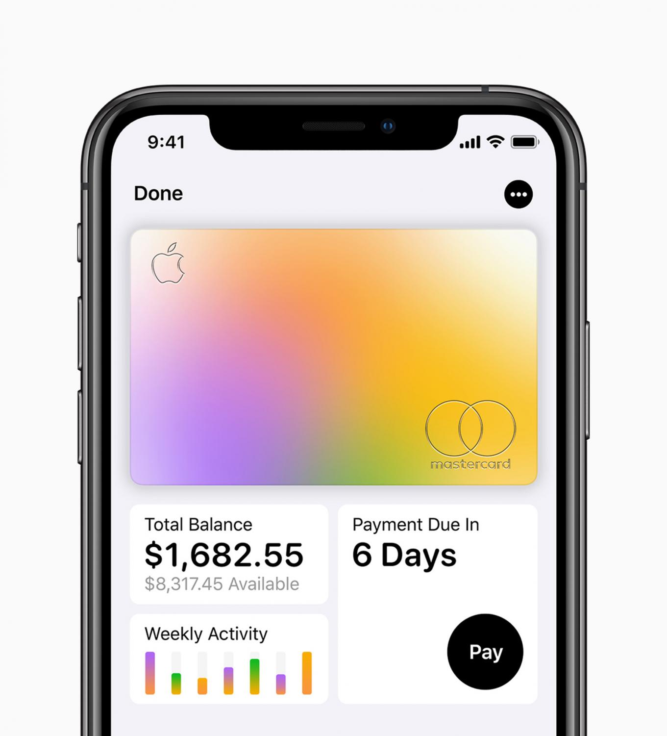 The Apple Card will act much the same as the Apple Wallet, but it's also a physical card you can carry in your wallet. (Apple/TNS)
