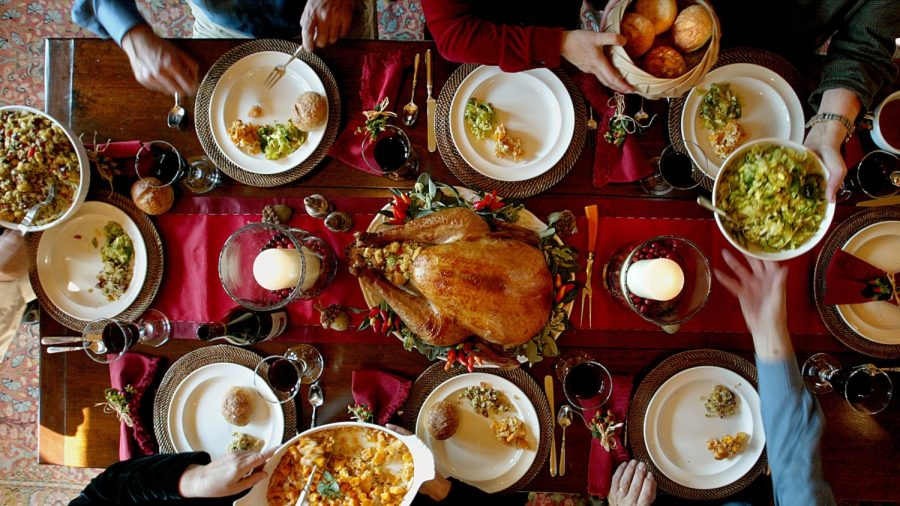 A big Thanksgiving meal is an American tradition, but overeating on holidays happens in countries all over the world, according to a new study.