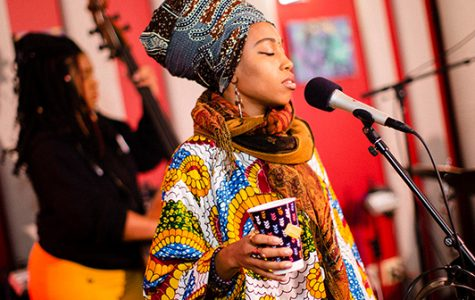 Grammy nominated Jazzmeia Horn visits UNCW