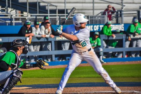 Matt Suggs (15) during UNCW's matchup with Marshall on Feb. 22, 2020 at Brooks Field.