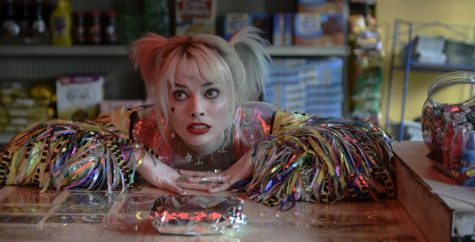 Margot Robbie in a scene from Birds of Prey.