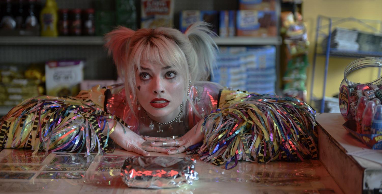 Margot Robbie in a scene from Birds of Prey.