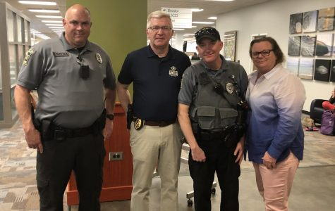 Campus Police host 'Coffee with a Cop' event