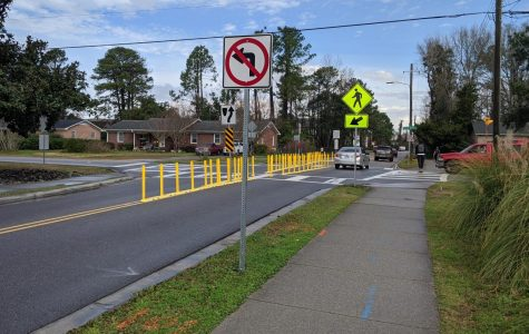 New traffic pattern improves dangerous intersection near UNCW