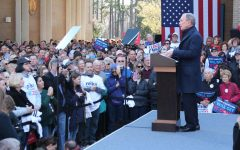 Michael Bloomberg hosted pre-super tuesday campaign rally in Wilmington