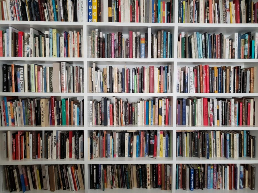 Re-shelving a library takes time, but there are unexpected rewards. (Christopher Knight/Los Angeles Times/TNS) USA