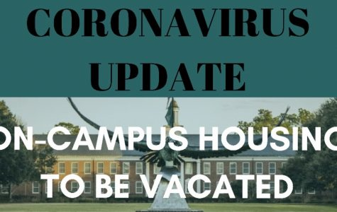 On-campus residences to be vacated following new coronavirus guidelines