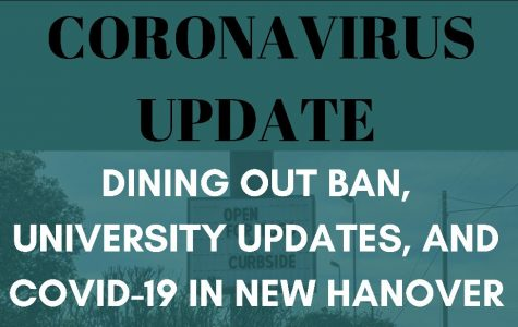 Dining out ban, university updates and COVID-19 in New Hanover