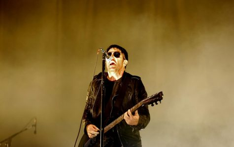 Trent Reznor of Nine Inch Nails performs on Sunday, July 23, 2017 at FYF Fest in Exposition Park in Los Angeles, Calif. (Gary Coronado/Los Angeles Times/TNS)