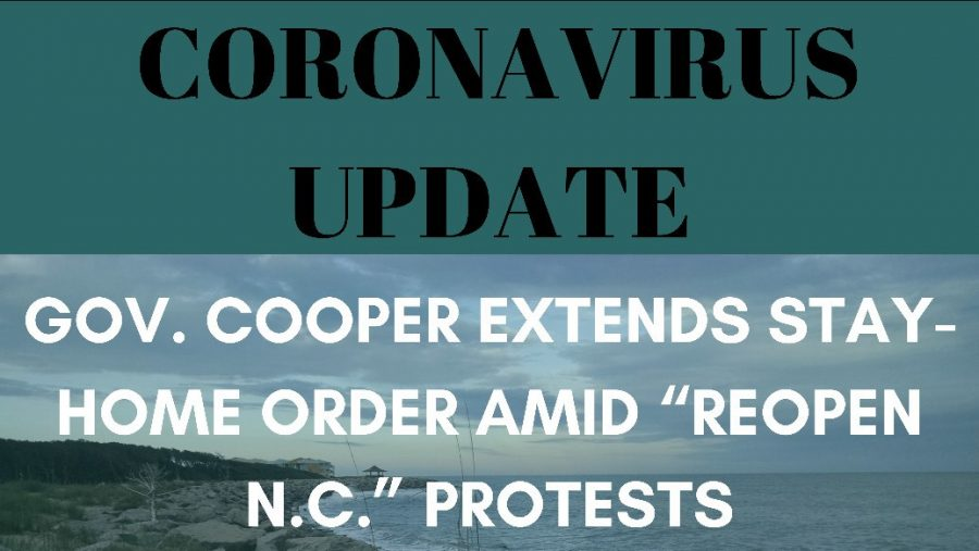 Coronavirus Update: Gov. Cooper extends stay-home order amid