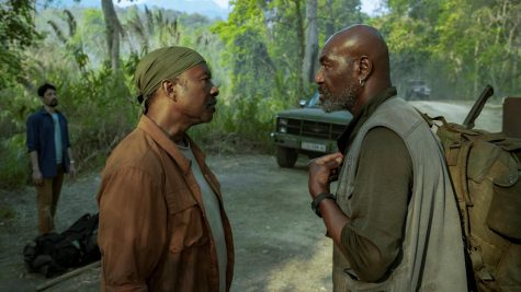 "Clarke Peters and Delroy Lindo in a scene from ""Da 5 Bloods"""