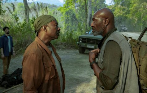 Clarke Peters and Delroy Lindo in a scene from
