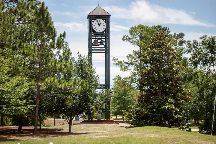 UNCW Clocktower.