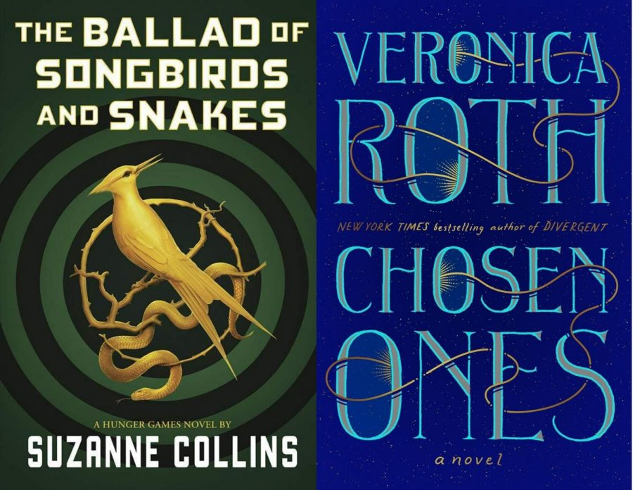 %22A+Ballad+of+Songbirds+and+Snakes%22+by+Suzanne+Collins+and+%22Chosen+Ones%22+by+Veronica+Roth.