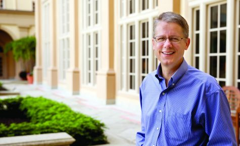 Photo of Mike S. Adams from his professor profile page for the Sociology and Criminology Department, as of 2020.