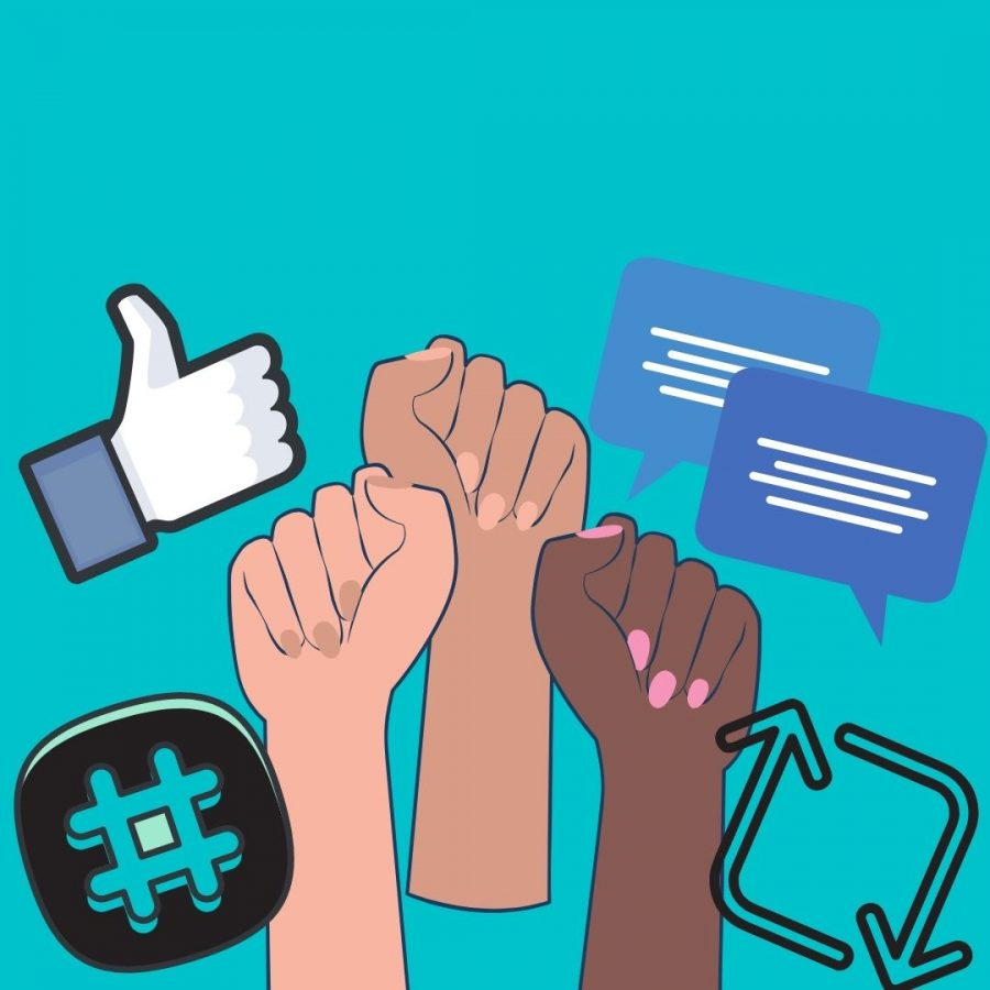 Social Media allows people to quickly and easily hear about and join various social movements.